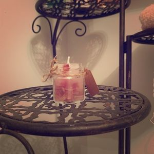 Handmade jar candle